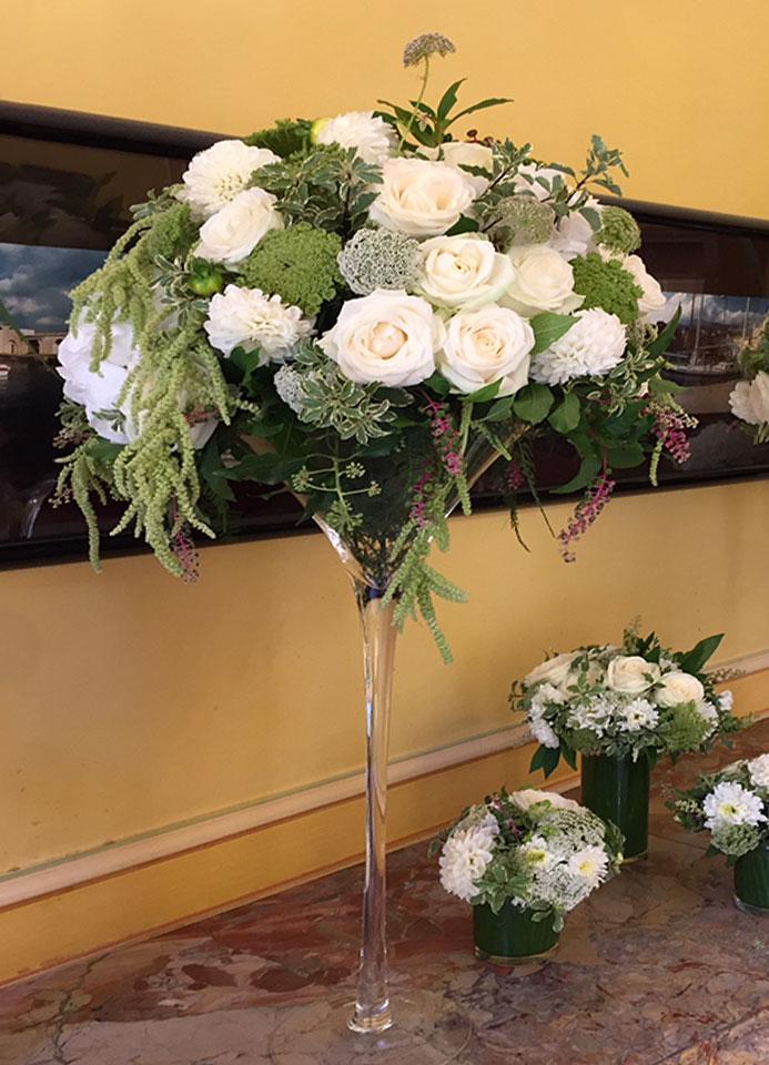 Bouquets de table de mariage