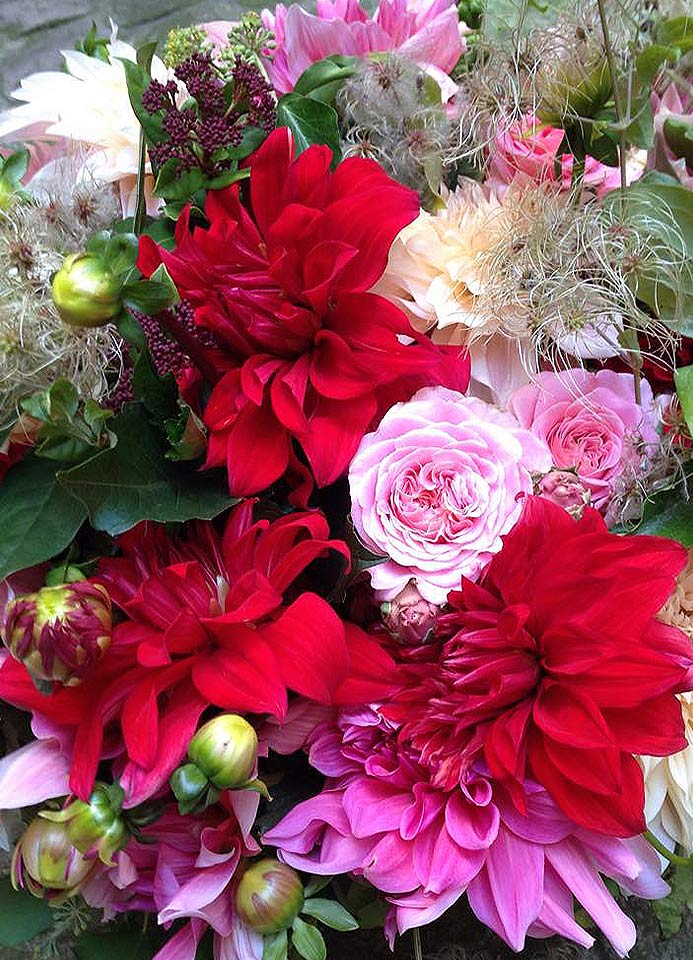 Bouquet de remerciement.